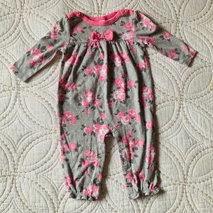 Darling Baby Girl One Piece Long Sleeved Playsuit